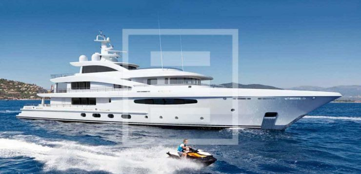 The Amels 188 yacht