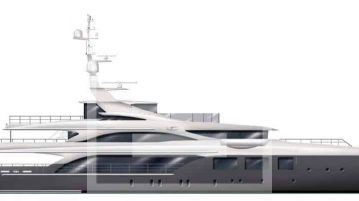 A diverse mix of luxe materials for the new Dini-styled Benetti