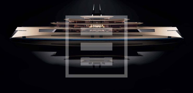 The beautifully balanced design spaces of the Sed Symmetry yacht
