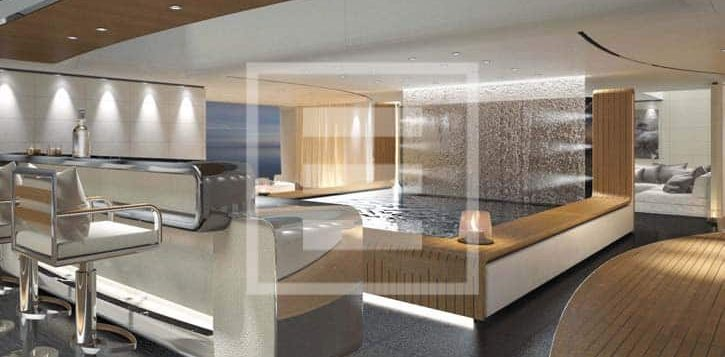 One of the Francesco Paszkowski Design creations for the Ferretti Group's CRN yard