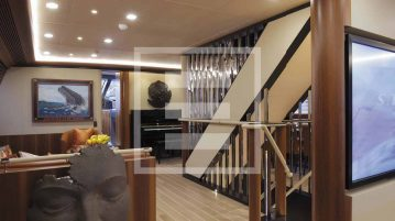 The new Perseusˆ3 yacht of Perini Navi