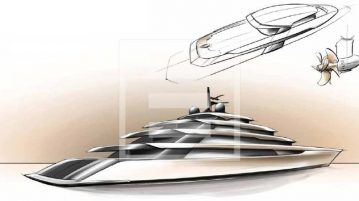 The innovative 115-metre from Mulder Design