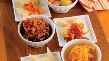 Verticale di Parmigiano con 3 salse: un aperitivo originalissimo!