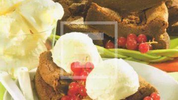 ricetta della Torta al gianduia con gelato e ribes