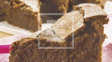 Chocolate cake with earl grey tea: torta morbida al te