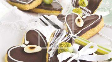 biscotti segnaposto cioccolato ricetta