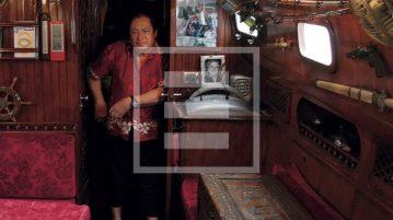 Scrivere libri e vivere in barca: il racconto di Giacobbe, in porto a Genova