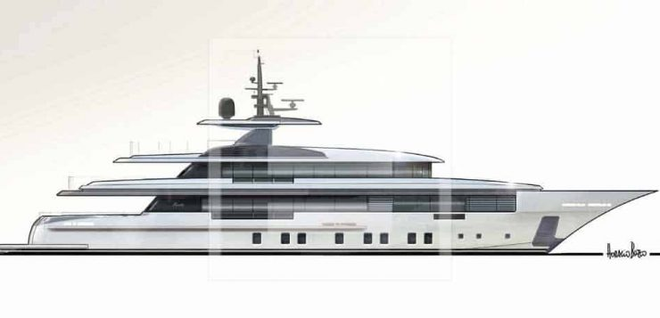 Zafiro, lo yacht 160' Custom Project FB702 di Benetti