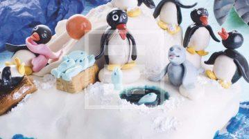 torta pingu pinguini ricetta