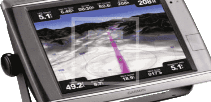 plotter garmin tracciare la rotta