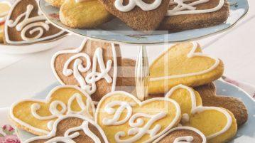 Biscottini di frolla a forma di cuore: ricetta per san valentino