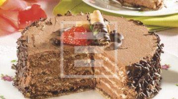 torta tartufina meringa cioccolato ricetta