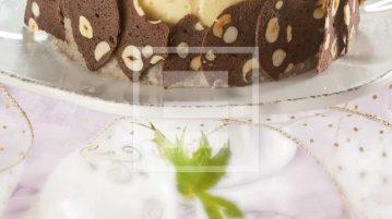 charlotte castagne e vaniglia ricetta bavarese
