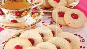 pasticcini biscotti tè ricetta