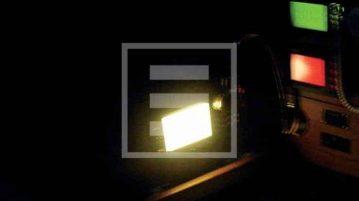 blackout a bordo gps spento