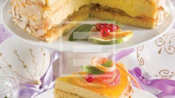 torta natale ricetta arancia mandorle