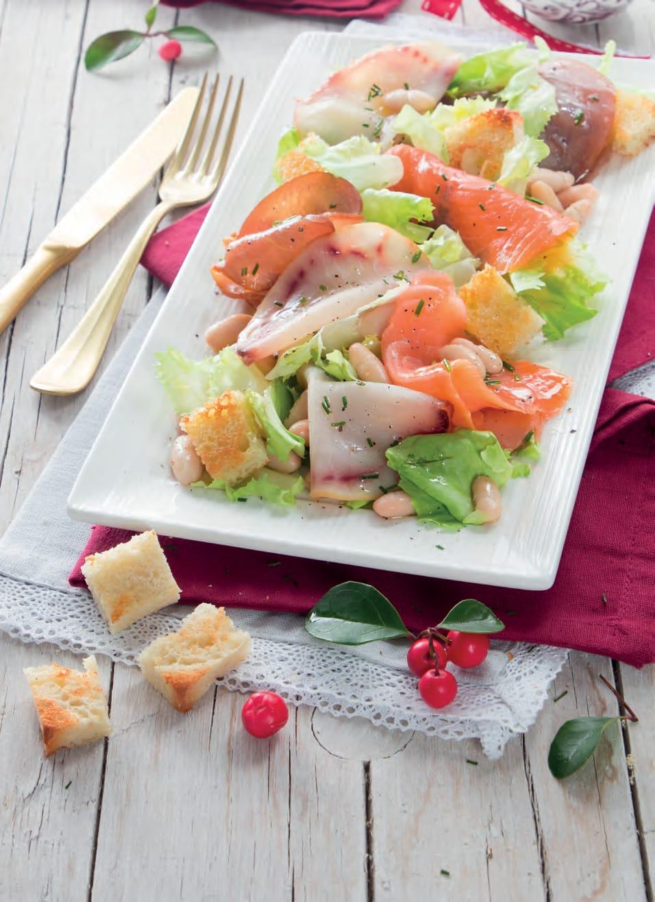 Insalata Di Pesce Spada Salmone E Tonno Affumicato Magpedia