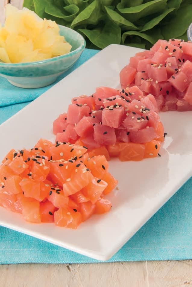 Tartare Di Salmone E Tonno Per La Serata Sushi Magpedia