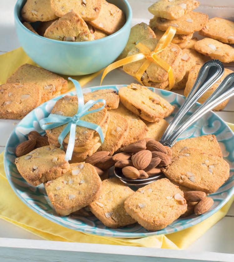 Biscotti Di Natale 1 Uovo.Biscotti Semplici Alle Mandorle Idea Semplice Per La Colazione