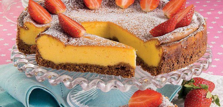 New York cheesecake al limone e fragole: la ricetta | Magpedia