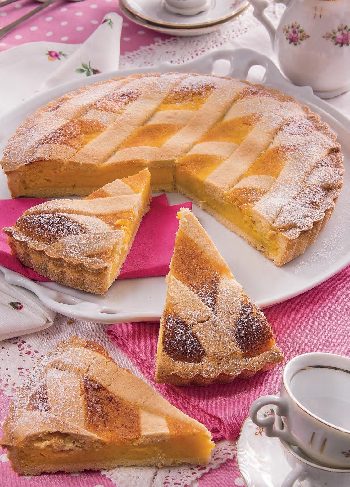 Ricetta crostata farina di mandorle