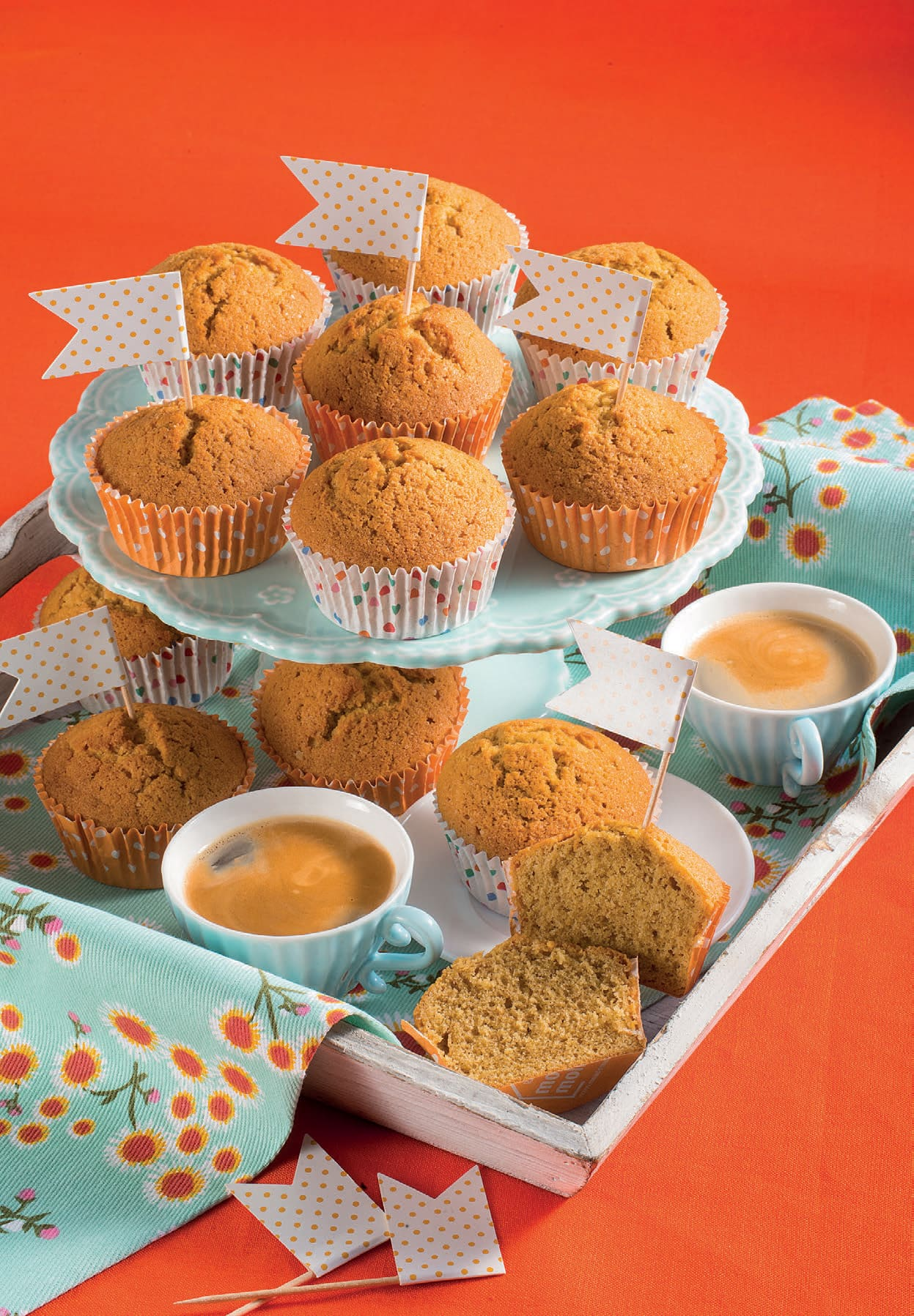 Muffin al caffè pronti in 35 minuti: ricetta velocissima ...