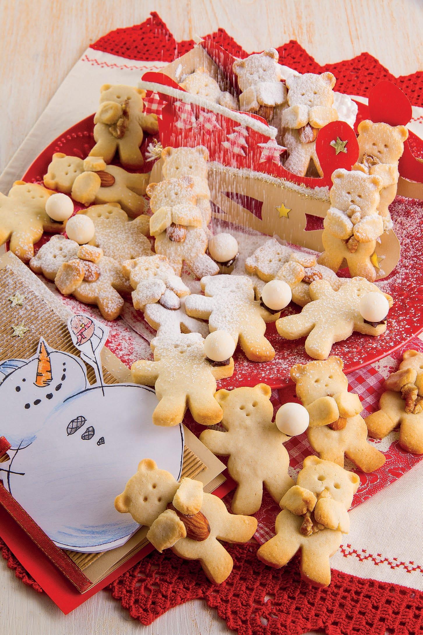 Biscotti Di Natale X Bambini.Orsetti Teneri E Croccanti Biscotti Di Frolla E Mandorle Magpedia