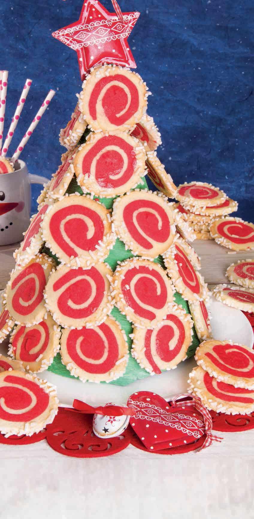 Albero Di Natale Fatto Con I Biscotti.Torre Di Biscotti L Albero Di Natale Piu Goloso Che Ci Sia Magpedia