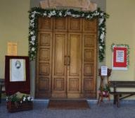 La porta santa del Cottolengo di Pinasca