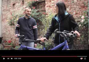 Un frame di uno dei video già disponibili su youtube e sul sito www.vitadiocesanapinerolese.it