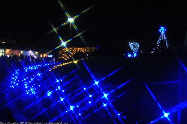 イルミネーション(ツインアーチのメリークリスマス)