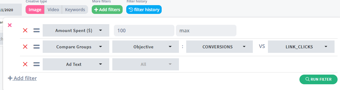 Easy-to-use filtering capabilities