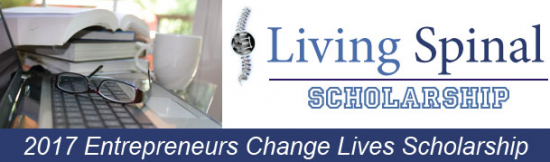 Living Spinal Entrepreneurs Change Lives Scholarship