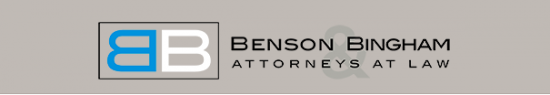 Benson & Bingham Law Scholarship