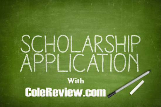 ColeReview Scholarship
