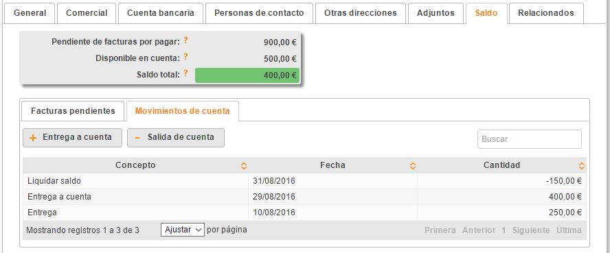 Cómo contabilizar entregas a cuenta a proveedores