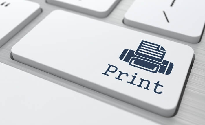 How to print business documents using your phone or tablet