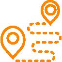 Tus técnicos y clientes localizados en el mapa