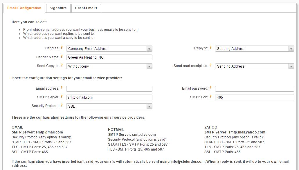 invoicing here com