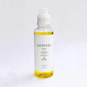 SOMALI 洗濯用液体石けん 600ml
