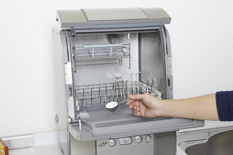 食器洗浄機の洗剤