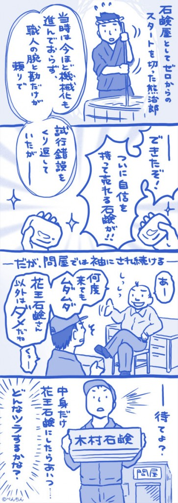 木村石鹸様 4コマ 2