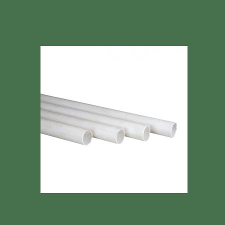 Walton 3/4 Inch PVC Conduit Pipe White - 3 Meter