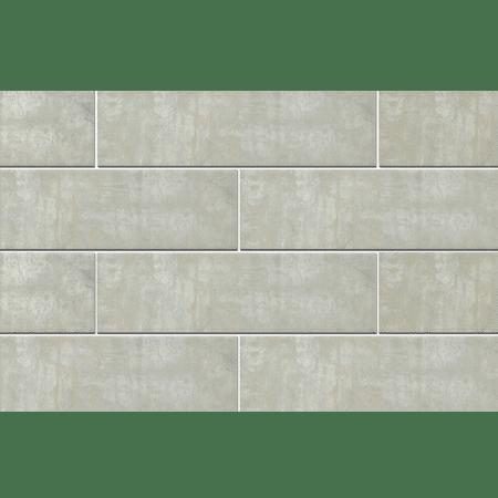 241 X 70 X 12 mm LONDON GREY Vitrified Cladding Wall Tiles - Matt Finish