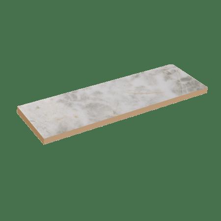 241 X 70 X 12 mm CARRARA Vitrified Cladding Wall Tiles - Matt Finish