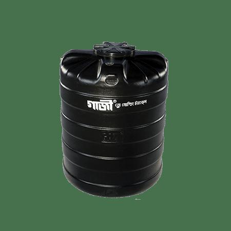 Gazi Three Layer Blow Molded Tank 1000 Lit Black