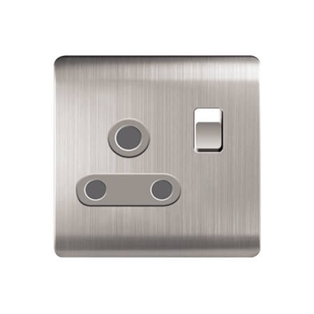 LightingZone 15A 3 Round Pin Socket with Switch