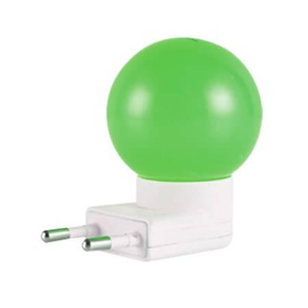 Click 0.5W LED Night Bulb Flou Green