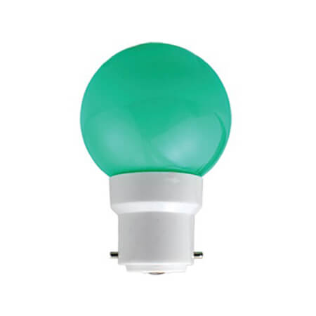 Click 0.5W LED Night Bulb Green
