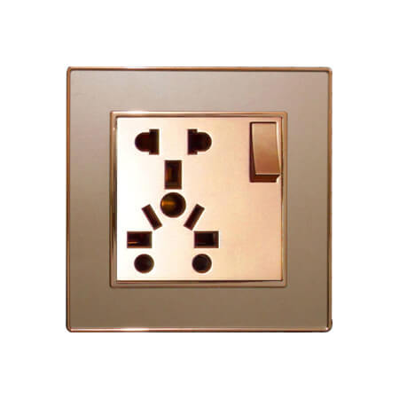 Ericson 10 Pin 13A Multi Socket with Switch
